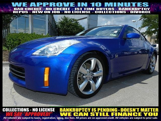 2006 NISSAN 350Z blue welcome take a test drive or call us if you have any questions you wo