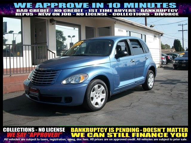 2006 CHRYSLER PT CRUISER TOURING 4DR WAGON blue  welcome take a test drive or call us if you h