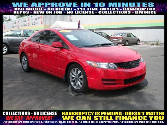 2010 HONDA CIVIC red  welcome take a test drive or call us if you have any questions you won