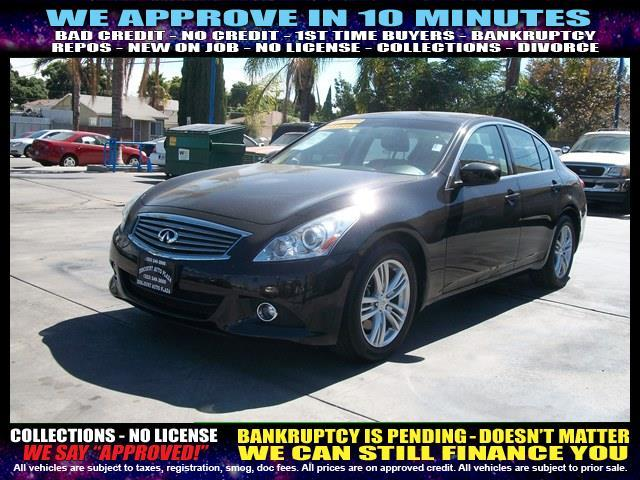 2011 INFINITI G37 SEDAN black  welcome take a test drive or call us if you have any questions