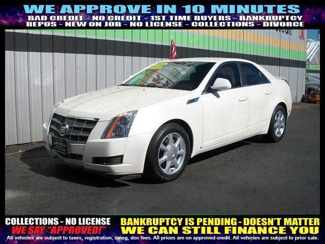 2009 CADILLAC CTS 36L V6 4DR SEDAN W AUTO white welcome take a test drive or call us if you h