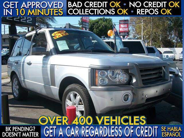 2006 LAND ROVER RANGE ROVER HSE 4DR SUV 4WD silver  welcome take a test drive or call us if yo
