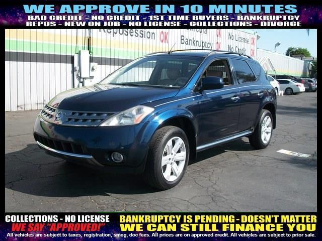 2007 NISSAN MURANO blue welcome take a test drive or call us if you have any questions you wo