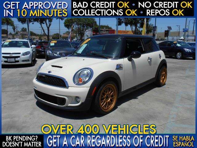 2013 MINI HARDTOP COOPER S 2DR HATCHBACK white  welcome take a test drive or call us if you ha