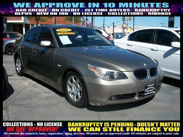 2006 BMW 5 SERIES 530I 4DR SEDAN gold  welcome take a test drive or call us if you have any qu