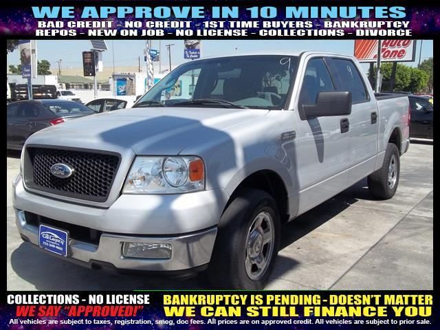2005 FORD F-150 XLT 4DR SUPERCREW RWD STYLESIDE silver welcome take a test drive or call us if