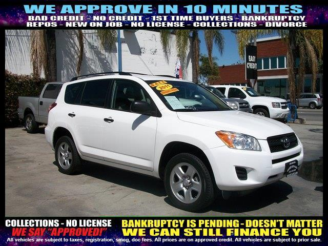 2011 TOYOTA RAV4 BASE 4DR SUV white  welcome take a test drive or call us if you have any ques