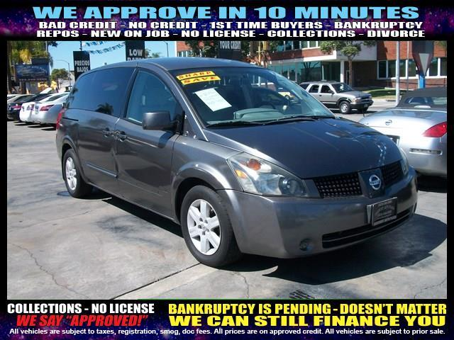 2004 NISSAN QUEST silver welcome take a test drive or call us if you have any questions you