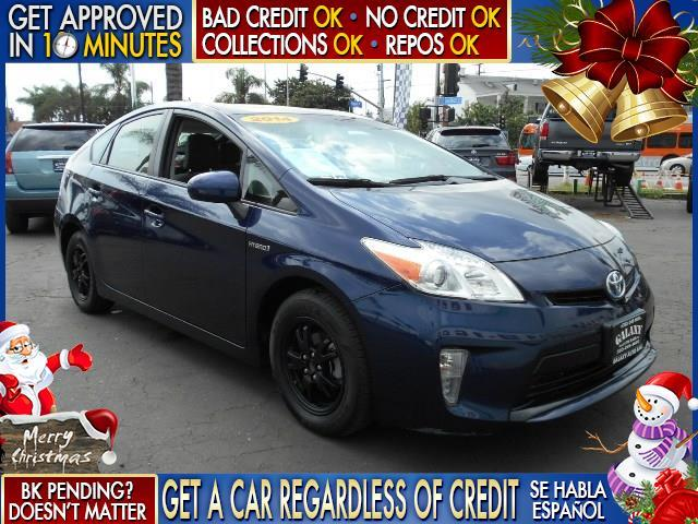 2014 TOYOTA PRIUS blue  welcome take a test drive or call us if you have any questions you w