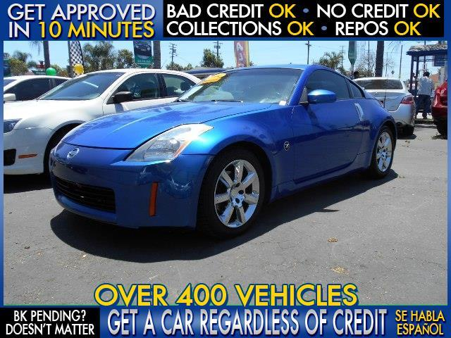 2004 NISSAN 350Z blue  welcome take a test drive or call us if you have any questions you wo