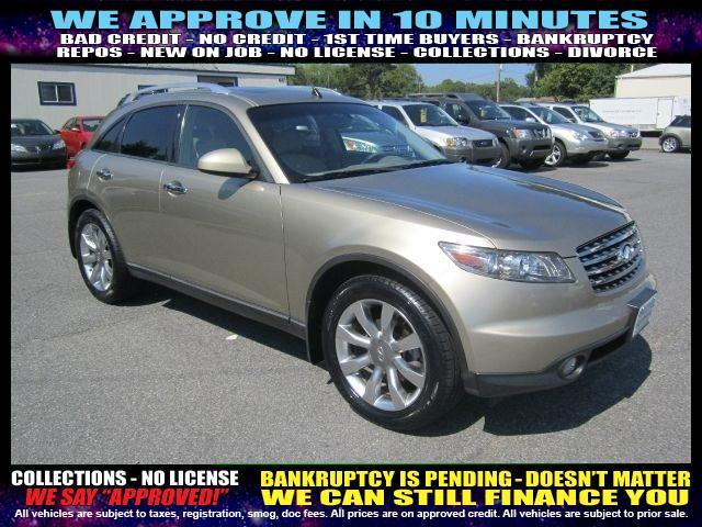 2004 INFINITI FX35 BASE RWD 4DR SUV gray welcome take a test drive or call us if you have any