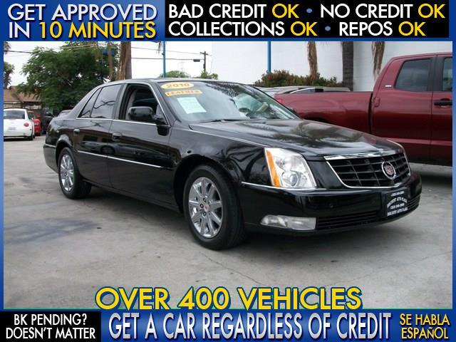 2010 CADILLAC DTS PREMIUM COLLECTION 4DR SEDAN black  welcome take a test drive or call us if