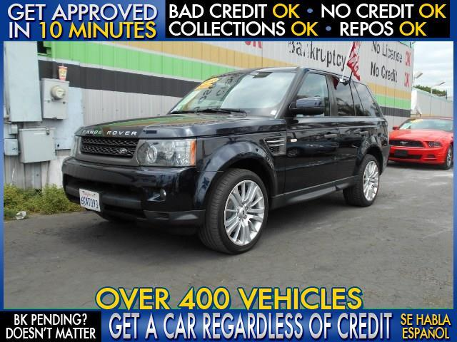 2010 LAND ROVER RANGE ROVER SPORT HSE 4X4 4DR SUV blue  welcome take a test drive or call us i