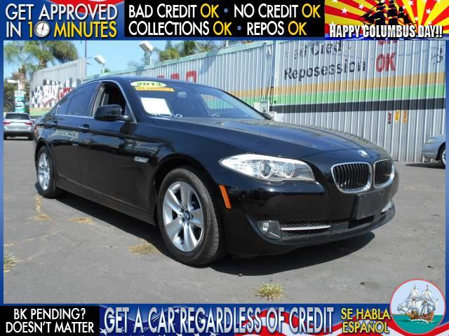 2013 BMW 5 SERIES 528I 4DR SEDAN black  welcome take a test drive or call us if you have any q