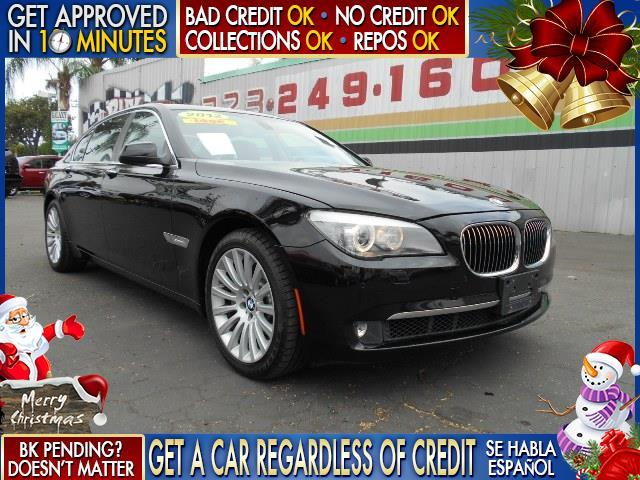 2012 BMW 7 SERIES black  welcome take a test drive or call us if you have any questions you