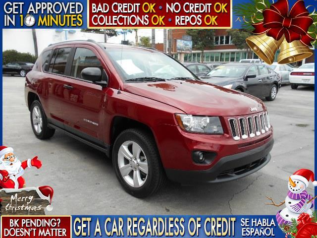 2014 JEEP COMPASS SPORT 4DR SUV red  welcome take a test drive or call us if you have any ques