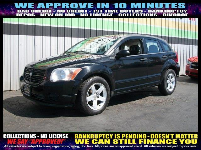 2007 DODGE CALIBER BASE 4DR WAGON black  welcome take a test drive or call us if you have any