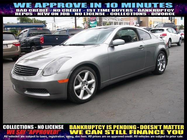 2004 INFINITI G35 BASE RWD 2DR COUPE WLEATHER silver  welcome take a test drive or call us if