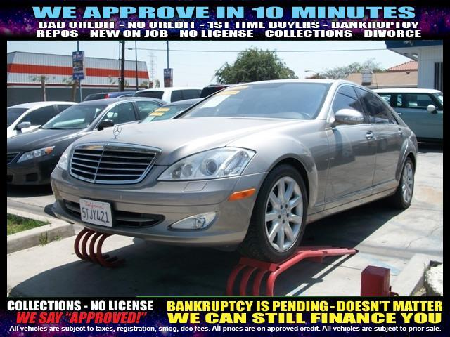2007 MERCEDES-BENZ S-CLASS S550 4DR SEDAN tan  welcome take a test drive or call us if you hav