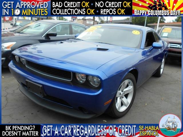 2012 DODGE CHALLENGER blue  welcome take a test drive or call us if you have any questions y