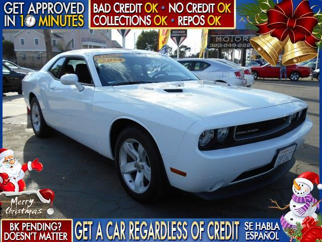 2014 DODGE CHALLENGER RT 2DR COUPE white  welcome take a test drive or call us if you have an