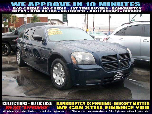 2006 DODGE MAGNUM SE 4DR WAGON blue welcome take a test drive or call us if you have any ques