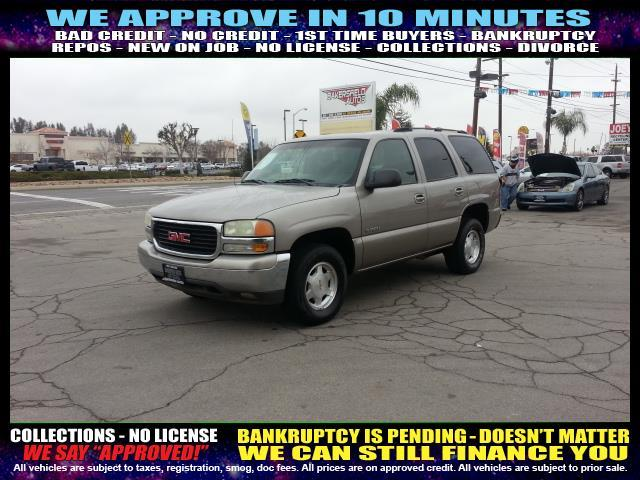 2003 GMC YUKON gold welcome take a test drive or call us if you have any questions you wont b
