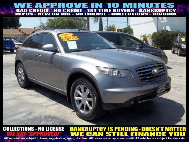 2007 INFINITI FX35 BASE 4DR SUV grey welcome take a test drive or call us if you have any quest