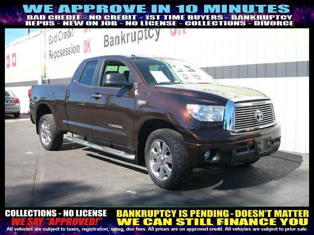 2010 TOYOTA TUNDRA GRADE 4X2 4DR DOUBLE CAB PICKUP brown welcome take a test drive or call us i