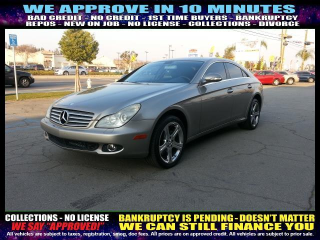2006 MERCEDES-BENZ CLS-CLASS CLS500 4DR SEDAN silver  welcome take a test drive or call us if