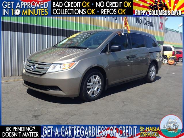2011 HONDA ODYSSEY LX 4DR MINI VAN tan  welcome take a test drive or call us if you have any q