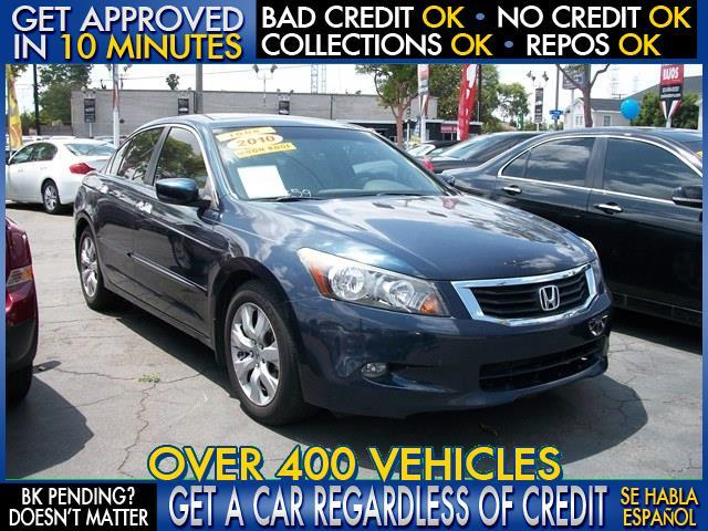 2010 HONDA ACCORD EX V6 4DR SEDAN blue  welcome take a test drive or call us if you have any q