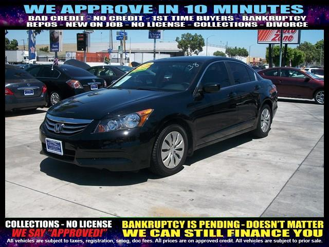 2012 HONDA ACCORD LX 4DR SEDAN 5A black welcome take a test drive or call us if you have any qu
