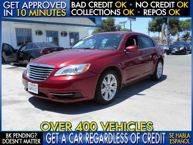 2013 CHRYSLER 200 TOURING 4DR SEDAN red  welcome take a test drive or call us if you have any