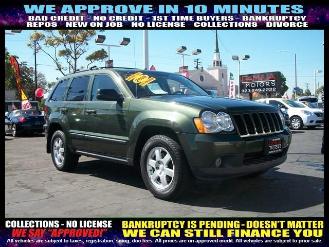 2008 JEEP GRAND CHEROKEE LAREDO 4X2 SUV green welcome take a test drive or call us if you have