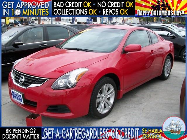 2012 NISSAN ALTIMA red welcome take a test drive or call us if you have any questions you w