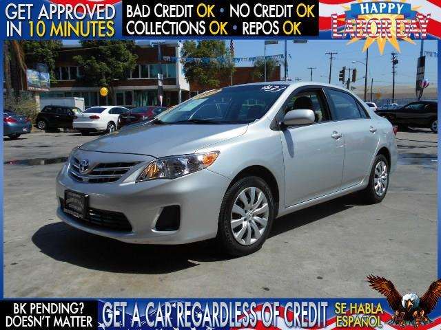 2013 TOYOTA COROLLA LE silver  welcome take a test drive or call us if you have any questions