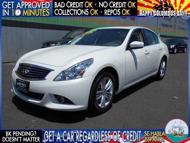 2012 INFINITI G37 SEDAN SPORT APPEARANCE EDITION 4DR SED white  welcome take a test drive or c