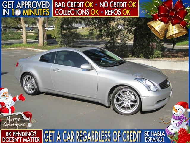 2005 INFINITI G35 BASE RWD 2DR COUPE black  welcome take a test drive or call us if you have a