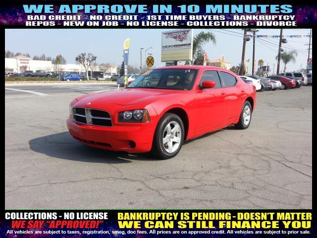 2010 DODGE CHARGER SE 4DR SEDAN red  welcome take a test drive or call us if you have any ques