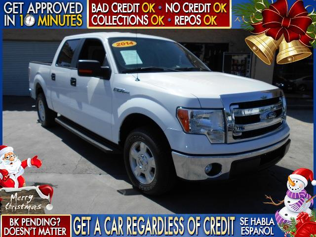 2014 FORD F-150 white  welcome take a test drive or call us if you have any questions you wo