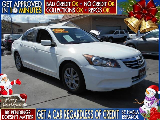 2012 HONDA ACCORD SE 4DR SEDAN white  welcome take a test drive or call us if you have any que