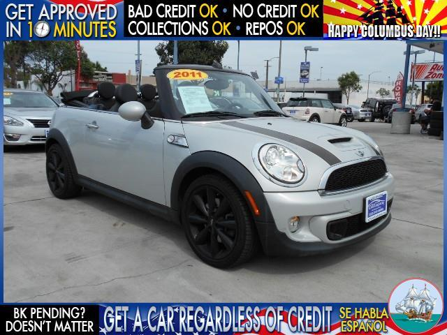 2012 MINI COOPER CONVERTIBLE S 2DR CONVERTIBLE white  welcome take a test drive or call us if