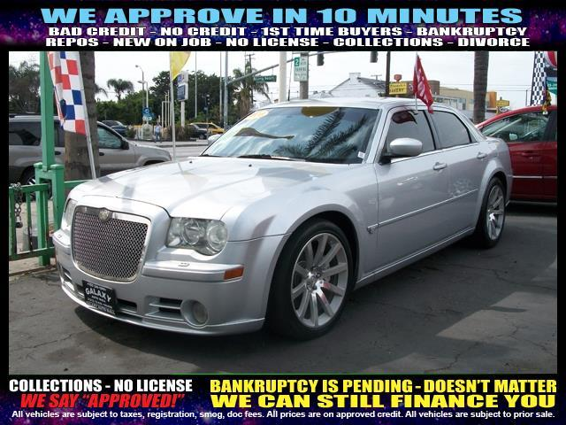 2006 CHRYSLER 300 SRT-8 4DR SEDAN silver  welcome take a test drive or call us if you have any