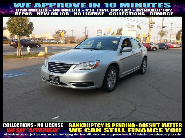 2012 CHRYSLER 200 LX 4DR SEDAN silver welcome take a test drive or call us if you have any qu