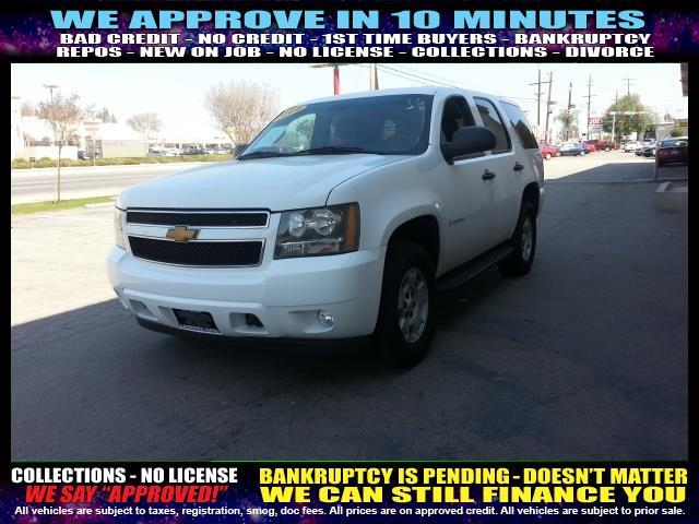 2009 CHEVROLET TAHOE LS 4X4 4DR SUV white  welcome take a test drive or call us if you have an