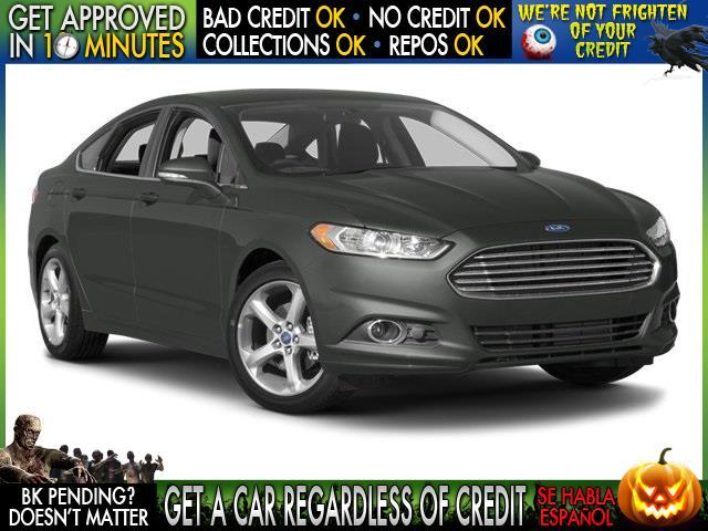 2014 FORD FUSION SE 4DR SEDAN black  welcome take a test drive or call us if you have any ques