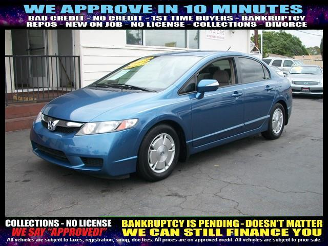 2009 HONDA CIVIC blue  welcome take a test drive or call us if you have any questions you wo