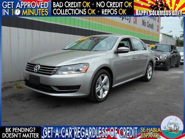 2014 VOLKSWAGEN PASSAT SE PZEV 4DR SEDAN 5M I4 silver  welcome take a test drive or call us