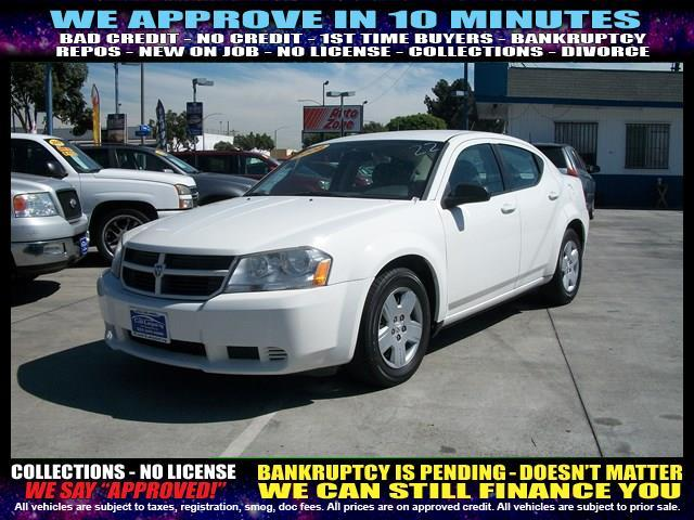 2008 DODGE AVENGER SE 4DR SEDAN white  welcome take a test drive or call us if you have any qu